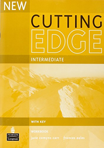 9780582825208: New Cutting Edge Intermediate Workbook Key