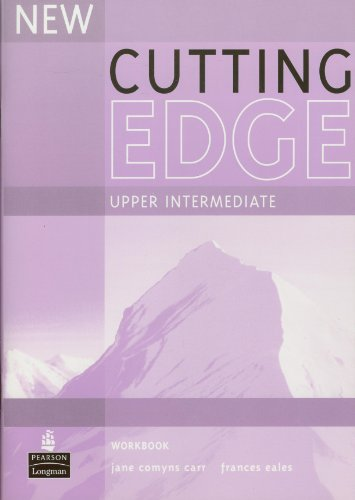 9780582825277: Cutting edge. Upper intermediate. Workbook. Without key. Per le Scuole superiori