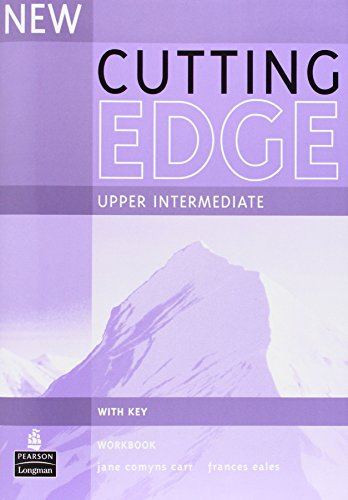 9780582825284: Cutting edge. Upper intermediate. Workbook. With key. Per le Scuole superiori