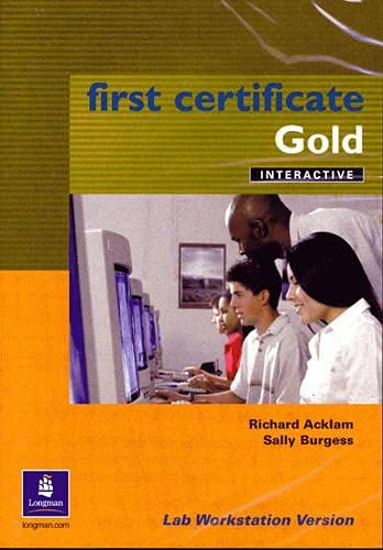 9780582825673: First Certificate Gold Interactive CD-ROM