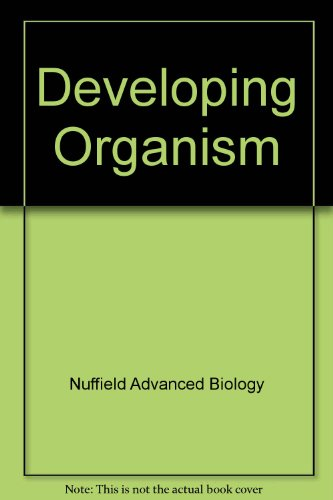 9780582826045: Developing Organism