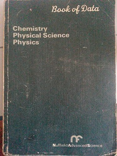 9780582826724: Book of Chemical Data (NAS series)