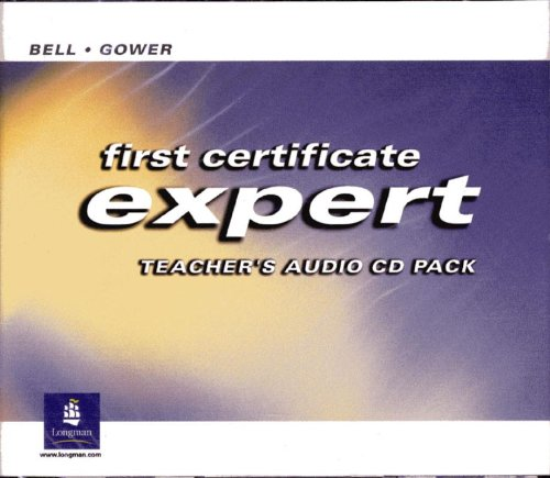 9780582827745: First Certificate Expert. Teacher's Audio CD Pack