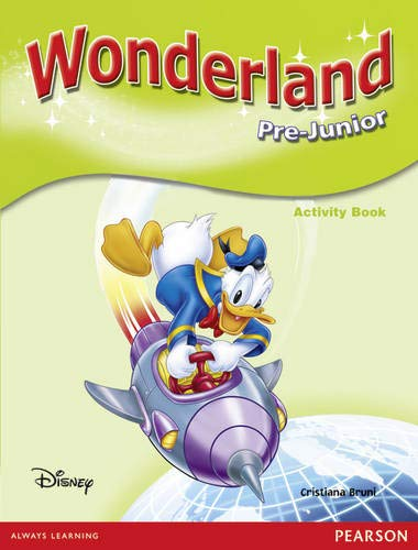 9780582828414: Wonderland Pre-Junior Activity Book (English Adventure)