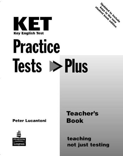 9780582829091: KET Practice Tests Plus Teacher's Book New Edition