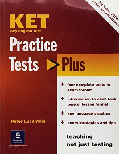 9780582829107: Ket practice tests plus. Libro per lo studente. Per le Scuole superiori
