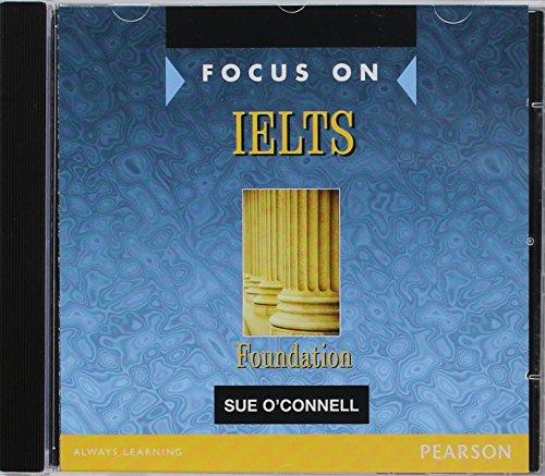 9780582829145: Focus on IELTS Foundation Level Class CDs