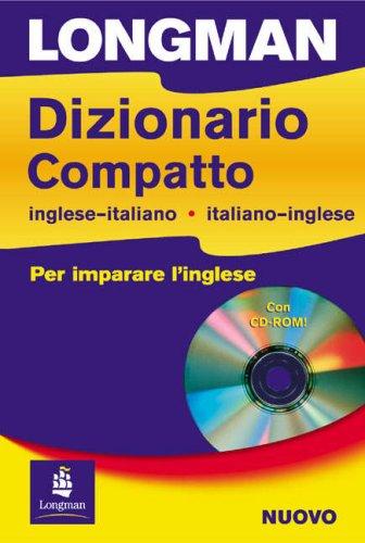 9780582829190: Dizionario compatto. Inglese italiano, italiano-inglese. Con CD-ROM