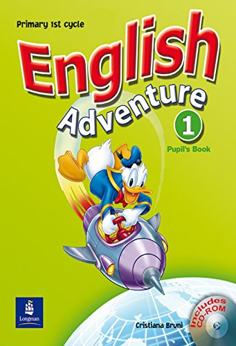 9780582829244: English Adventure Spain 1 Pupil's Book and CD-ROM Pack
