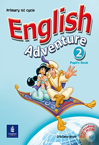 9780582829251: English Adventure Spain 2 Pupil's Book and CD-ROM Pack