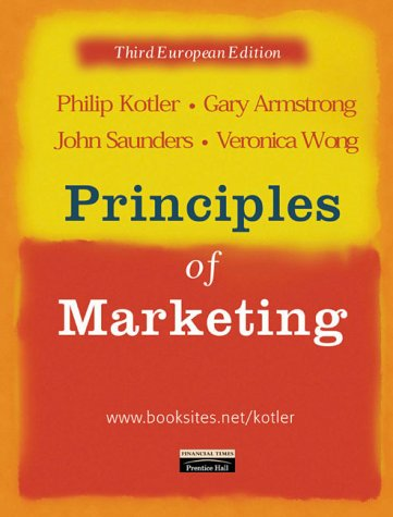 9780582833029: Principles of Marketing:European Edition with Marketing Research, European Edition:an Applied Approach (Pearson Valueadd Pack)