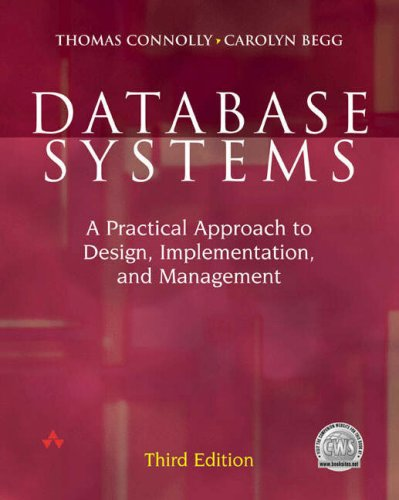 9780582833272: Database Systems:a Practical Approach to Design, Implementation and Management with Oracle 9i Package
