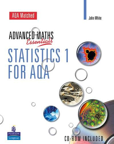 9780582836907: A Level Maths Essentials Statistics 1 for AQA Book and CD-ROM (AQA GCE Maths)
