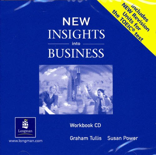 9780582838055: New Insights into Business Workbook CD