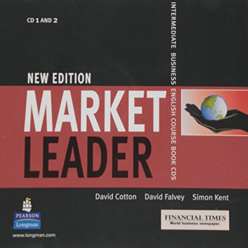9780582838116: Market Leader Intermediate New Edition 2 Class CDs