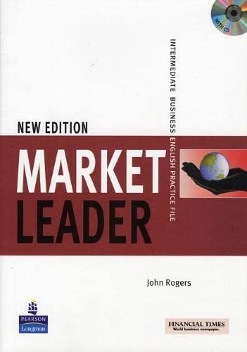 9780582838208: Market Leader Practice File Pack (Book and Audio CD)