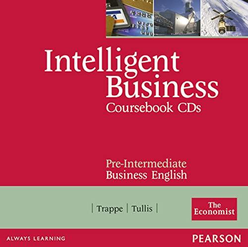 9780582840515: Intelligent Business Pre-Intermediate. Course Book CD 1-2