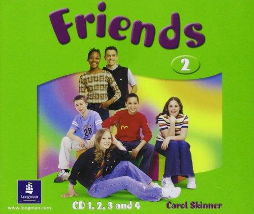 9780582841697: Friends 2 (global) Class CD4: Class CD4
