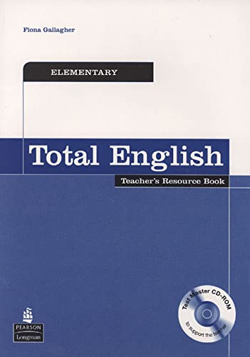9780582841796: Total English Elementary: Teacher's Resource Book (Total English)