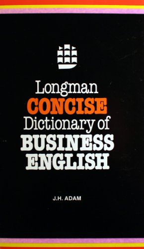 9780582842212: LONGMAN CONCISE DICTIONARY OF BUSINESS ENGLISH (Glofineng)