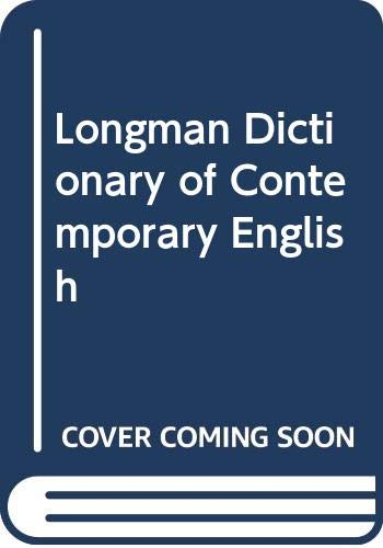 9780582842229: Longman Dictionary of Contemporary English