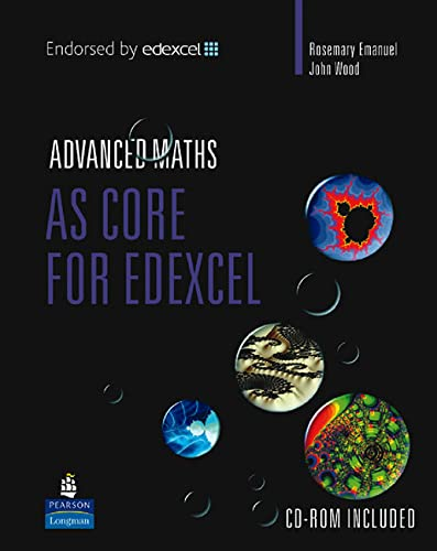 9780582842373: AS Core Mathematics for Edexcel (Edexcel GCE Maths)