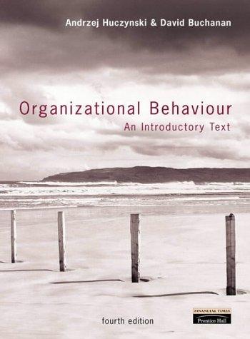 "9780582843219: ""Organizational Behaviour: an Introductory Text"" with ""Rethinking Organisational Behaviour"""