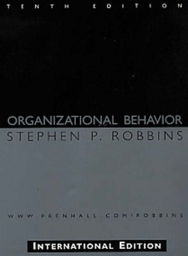 Organizational Behavior: Instructor's Manual with Test Item: Robbins