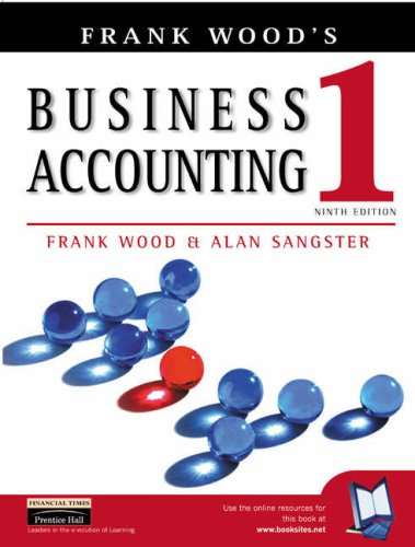 Business Accounting Vol 1 with Accounting Dictionary (0582843464) by Frank Wood; Alan Sangster