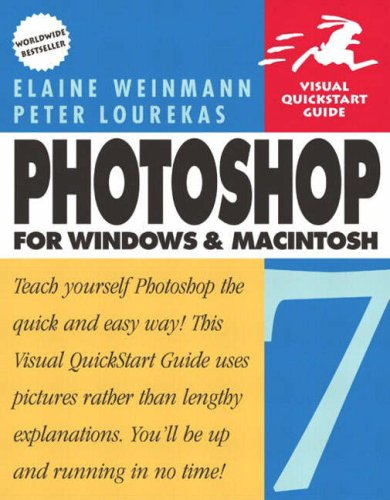 9780582844537: Photoshop 7 for Windows and Macintosh:Visual Quickstart Guide with 100 Photoshop Tips