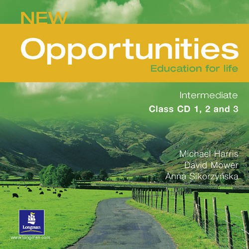 9780582846258: New opportunities. Intermediate. Ediz. internazionale. Per le Scuole superiori. CD Audio