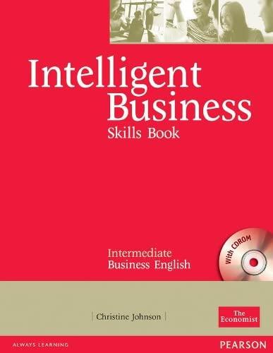 9780582846883: Intelligent Business, Intermediate Skills Book + Cd-rom: Skills Book : Intermediate Business English