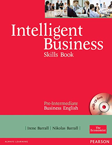 9780582846920: Intelligent Business Pre-Intermediate Skills Book and CD-ROM pack