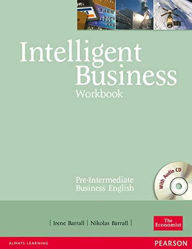 9780582846951: Intelligent Business Pre-Intermediate Workbook with Audio CD