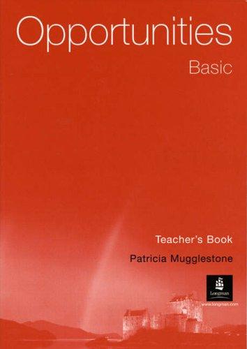 Opportunities Basic (Arab-World) Teacher's Book (9780582847941) by P Mugglestone