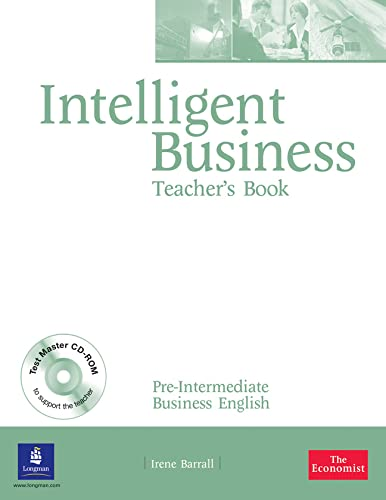 9780582848030: Intelligent Business: Pre-Intermediate Teacher's Book