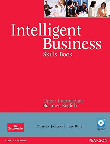 9780582848061: Intelligent Business Upper Intermediate Skills Book for Pack: Book material