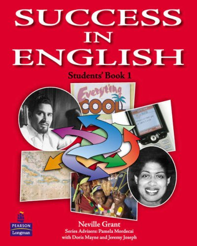 9780582848764: Success in English: Student Book No. 1