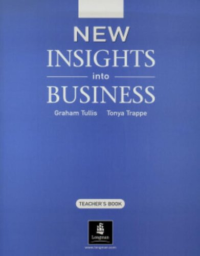 9780582848863: New Insights into Business Teacher's Book New Edition