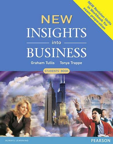 9780582848870: New Insights Into Business. Students' Book
