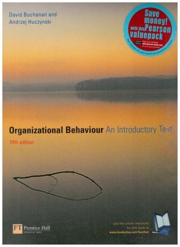 9780582850163: Organizational Behaviour: AND Business Dictionary