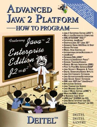 9780582850446: Advanced Java 2 Platform: How to Program: AND Java - How to Program