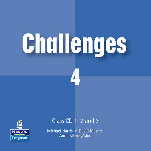 9780582851801: Challenges Class CD 1 3 Level 4