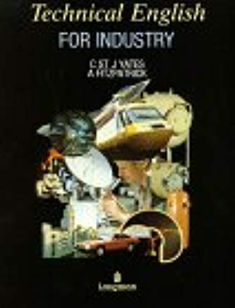 9780582852761: Technical English for Industry: Coursebk