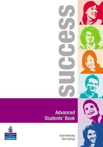 9780582852952: Success. Advanced. Student's book. Per le Scuole superiori
