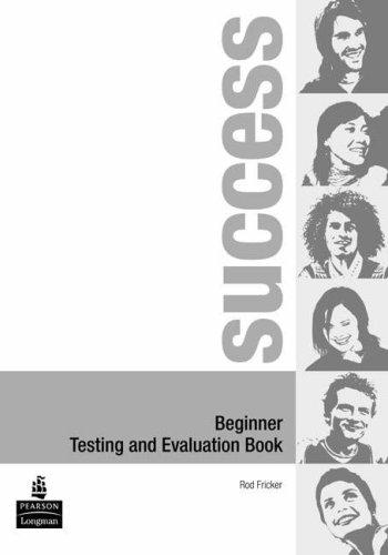 9780582853010: Success. Beginner test-Evaluation book. Con CD Audio. Per le Scuole superiori