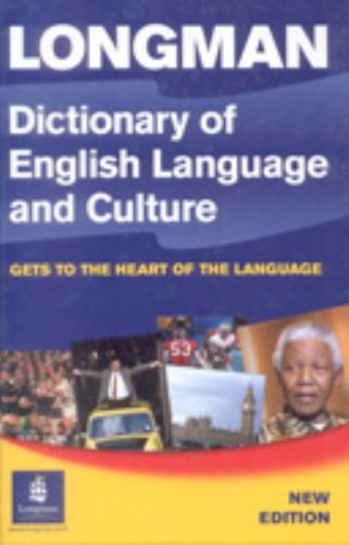 9780582853133: Longman Dictionary of English Language and Culture Cased 3rd Edition