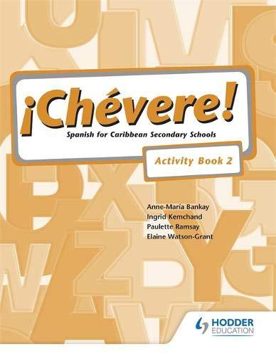 9780582853201: Chevere!: Activity Book Bk. 2