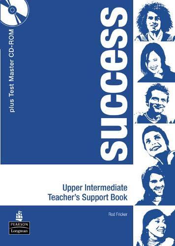 9780582854062: Success Upper Intermediate Teacher's Book