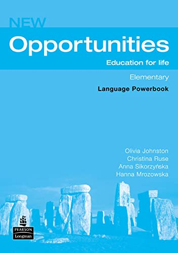 9780582854109: Opportunities: Global Elementary Language Powerbook NE (Opportunities)